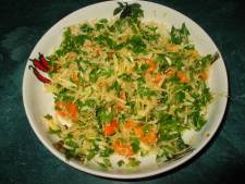 PARSLEY ROOT TABOULEH SALAD